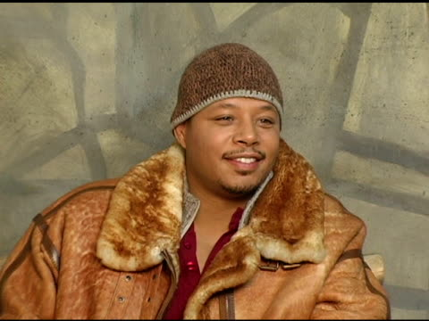 terrence howard of 'hustle and flow' at the 2005 hp portrait studio presented by wireimage at hp portrait studio in park city, utah on january 22,... - terrence howard stock videos & royalty-free footage