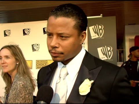 terrence howard on feeling that he is benefitting from other people's hard work being nominated for 'best song' whether we'll see him dancing in any... - terrence howard stock videos and b-roll footage