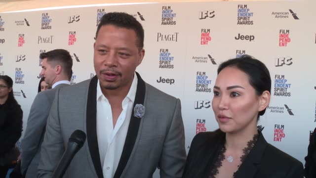 terrence howard on the event at piaget at the 2017 film independent spirit awards in los angeles, ca 2/25/17 - terrence howard stock videos & royalty-free footage