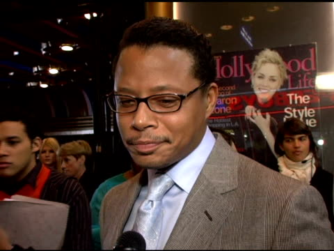 terrence howard on the film he is working on right now and on all the attention he is getting at the hollywood life magazine's breakthrough of the... - terrence howard stock videos & royalty-free footage