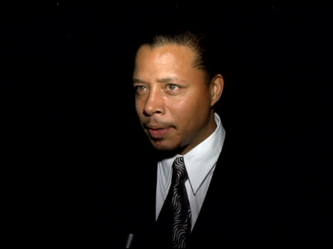 terrence howard on winning�his rising star award why he is so happy his theory about inspiration what it felt like to watch the montage of his life... - terrence howard stock videos and b-roll footage