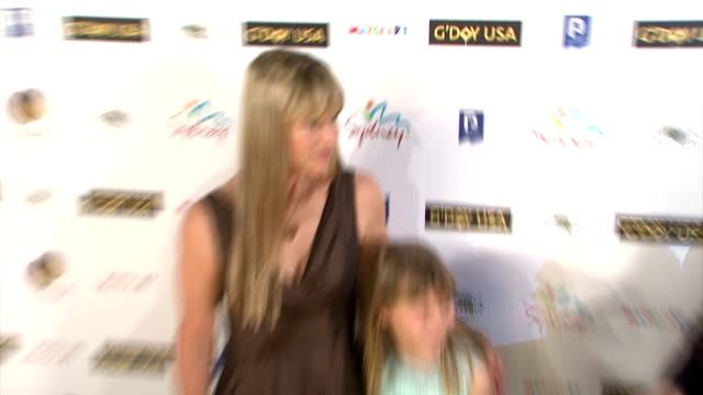 terri irwin and bindi irwin at the 'g'day usa' australia week 2008 event at jazz at lincoln center in new york, new york on january 22, 2008. - terri irwin stock videos & royalty-free footage