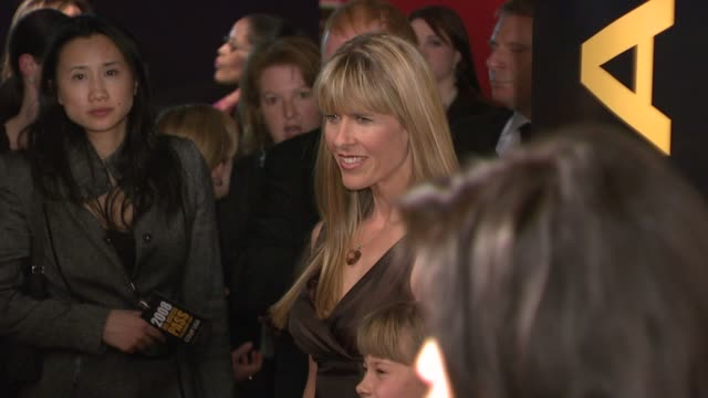 terri irwin at the 'g'day usa' australia week 2008 event at jazz at lincoln center in new york, new york on january 22, 2008. - テリー アーウィン点の映像素材/bロール