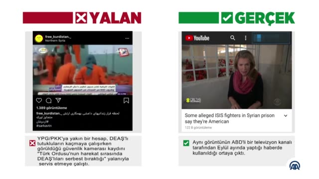 vídeos de stock e filmes b-roll de terror supporters have tried to undermine turkey's operation peace spring on social media trough a disinformation campaign. they continue using... - social media
