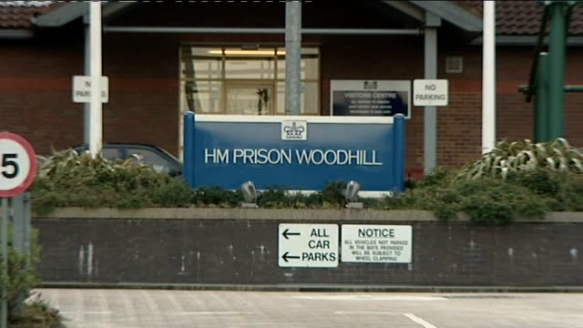 vídeos y material grabado en eventos de stock de terror suspect awarded 60000 damages from police over assaults date milton keynes exteriors of woodhill prison - buckinghamshire