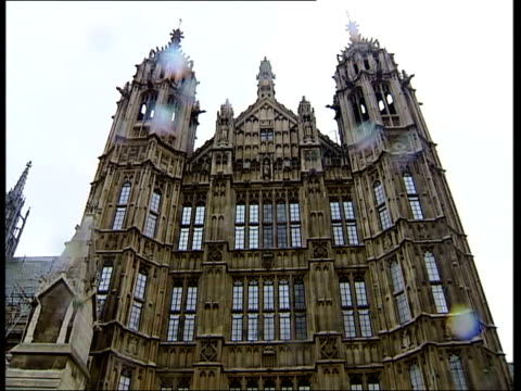 government climb down on antiterror laws westminster victoria tower pan houses of parliament la gv section of parliament building london int dominic... - dominic grieve stock videos and b-roll footage
