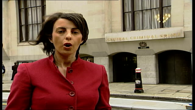 stockvideo's en b-roll-footage met operation crevice: trial continues; england london old bailey reporter to camera - crevice