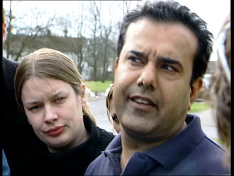 uncle of suspects speaks out / muslim reactions; sajjad ahmad interviewed sot - somebody came to our house, he sat and had a cup of tea, solicitors... - man and machine stock videos & royalty-free footage