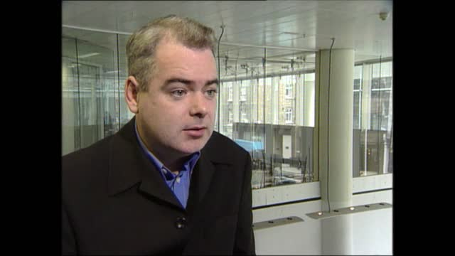 evening news special: pab 18.00 - 18.57; england: london: gir: int james mcsorley interview sot - itv evening news stock videos & royalty-free footage