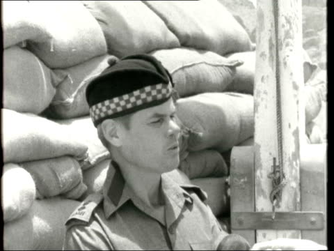 terrorists in aden cs mitchell outside sof the local people have really been in many ways jolly good and behaved themselves terribly well and i think... - aden stock videos & royalty-free footage