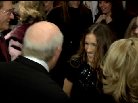 terry bradshaw and sarah jessica parker at the 'failure to launch' new york premiere at chelsea west in new york, new york on march 8, 2006. - terry bradshaw stock videos & royalty-free footage