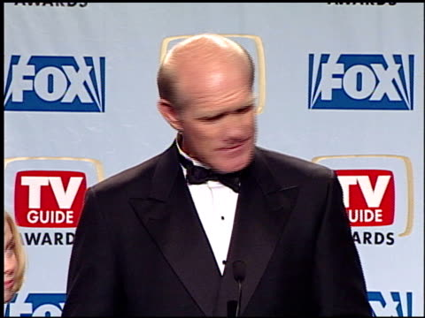 terry bradshaw at the 1999 tv guide awards press room at fox studios in century city, california on february 1, 1999. - terry bradshaw stock videos & royalty-free footage