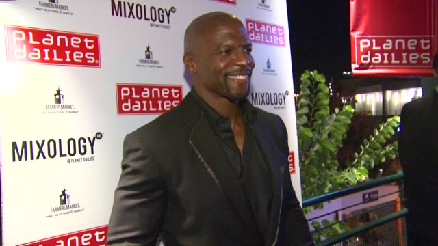 terry crews at arnold schwarzenegger celebrates the launch of his autobiography, total recall with a party at s mixology101 on 10/5/12 in los... - autobiography stock videos & royalty-free footage