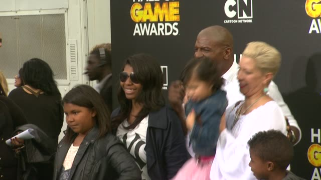 terry crews at cartoon network hosts fourth annual hall of game awards at barker hangar on february 15, 2014 in santa monica, california. - barker hangar stock videos & royalty-free footage