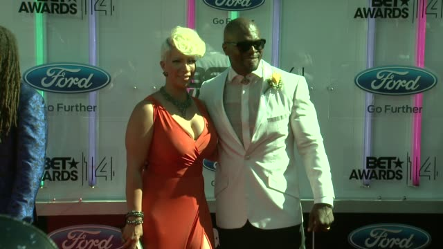 terry crews at the 2014 bet awards on june 29 2014 in los angeles california - bet awards stock videos and b-roll footage