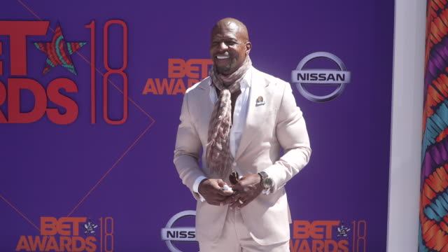 Terry Crews at the 2018 BET Awards at Microsoft Theater on June 24 2018 in Los Angeles California