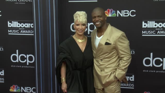 terry crews at the 2019 billboard music awards at mgm grand garden arena on may 1 2019 in las vegas nevada - mgm grand garden arena stock videos & royalty-free footage