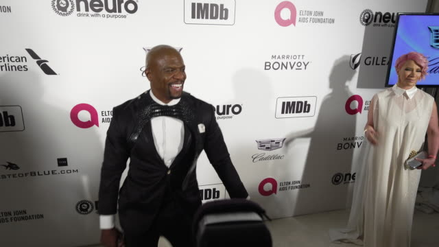 Terry Crews at the 27th Annual Elton John AIDS Foundation Academy Awards Viewing Party Sponsored By IMDb And Neuro Drinks on February 24 2019 in West...