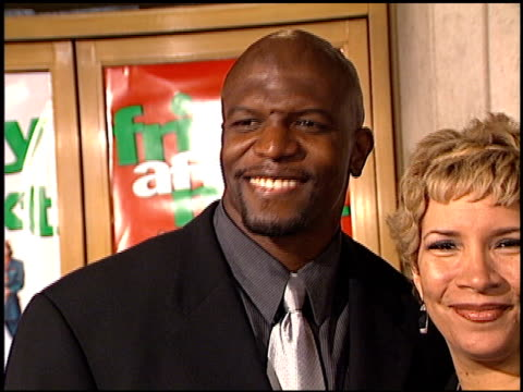 terry crews at the 'friday after next' premiere at the mann national theatre in westwood california on november 13 2002 - friday stock videos & royalty-free footage