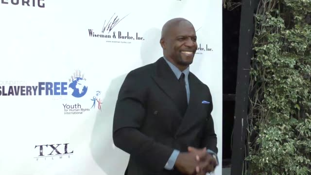 terry crews at the marisol nichols presents the human rights hero awards at beso restaurant in hollywood at celebrity sightings in los angeles on... - terry nichols stock videos & royalty-free footage