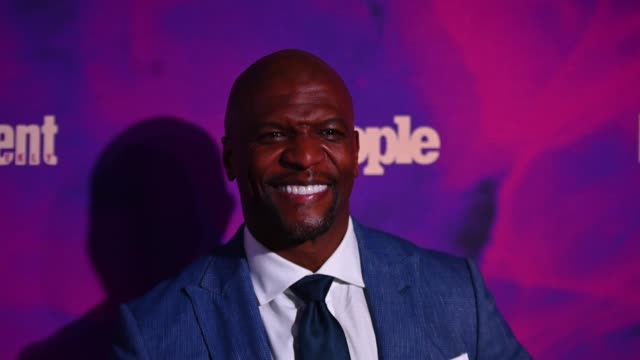terry crews at the people entertainment weekly 2019 upfronts at union park on may 13 2019 in new york city - entertainment weekly stock videos & royalty-free footage