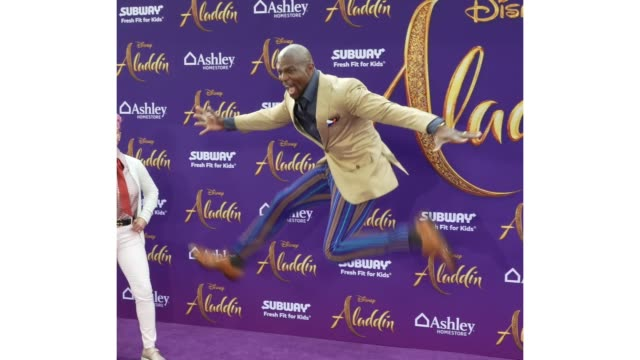 Terry Crews at the world premiere of Disney's Aladdin held at the El Capitan Theatre on May 21 2019 in Los Angeles California