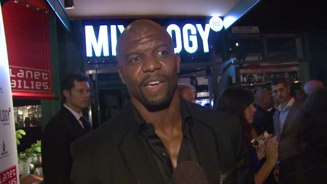 terry crews on advice arnold schwarzenegger gave him at arnold schwarzenegger celebrates the launch of his autobiography, total recall with a party... - autobiography stock videos & royalty-free footage