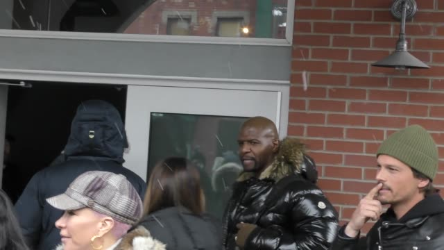 Terry Crews on Main Street at the Sundance Film Festival in Celebrity Sightings in Park City UT