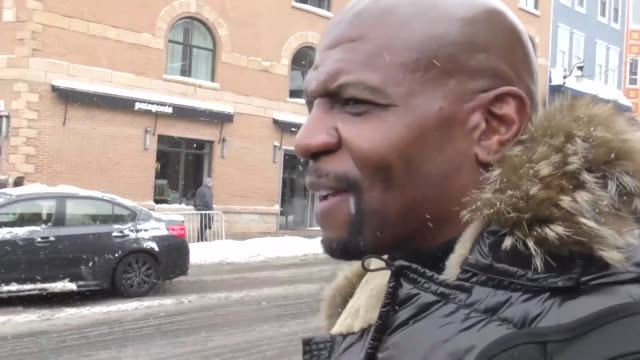 Terry Crews on Main Street at the Sundance Film Festival in Park City Utah at Celebrity Sightings in Park City on January 20 2018 in Park City Utah