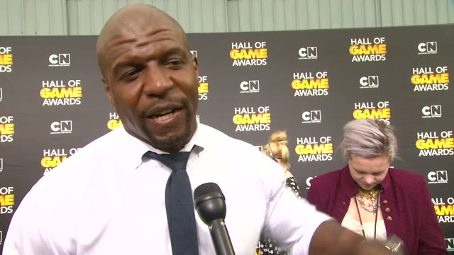 INTERVIEW Terry Crews on the event on Colin Kaepernick and Cam Newton hosting the show and on his favorite sports at Cartoon Network Hosts Fourth...