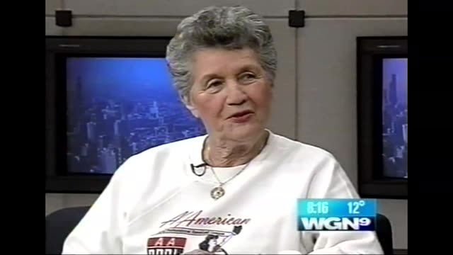 WGN Terry Donahue Talks Start of All American Girls Professional Baseball League on March 10 2003