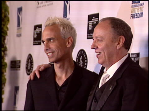 stockvideo's en b-roll-footage met terry george at the artistic freedom oscar party at ago in west hollywood, california on february 27, 2005. - 77e jaarlijkse academy awards