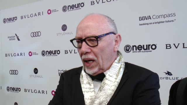 INTERVIEW Terry George on the event at 25th Annual Elton John AIDS Foundation's Academy Awards Viewing Party in Los Angeles CA
