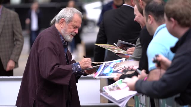 terry gilliam at 'the man who killed don quixote' uk premiere - 62nd bfi london film festival on october 15, 2018 in london, england. - terry gilliam stock videos & royalty-free footage