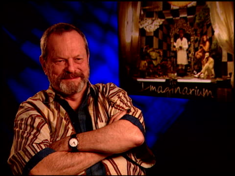 terry gilliam on being a creative maverick at the 'the imaginarium of doctor parnassus' junket at beverly hills ca - terry gilliam stock videos & royalty-free footage