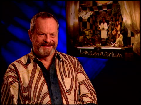 terry gilliam on having too many choices in life at the 'the imaginarium of doctor parnassus' junket at beverly hills ca - terry gilliam stock videos & royalty-free footage