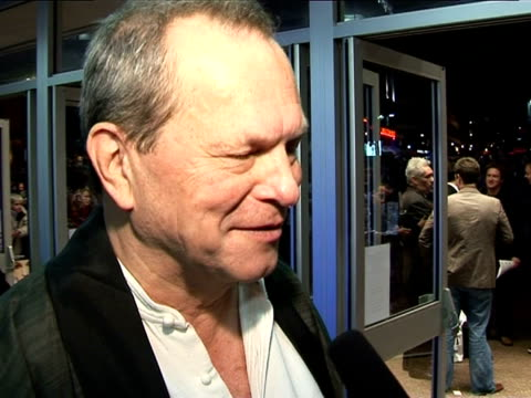 terry gilliam on his favourite fairytale at the the times bfi london film festival 2005 - the brothers grimm on october 31, 2005. - terry gilliam stock-videos und b-roll-filmmaterial