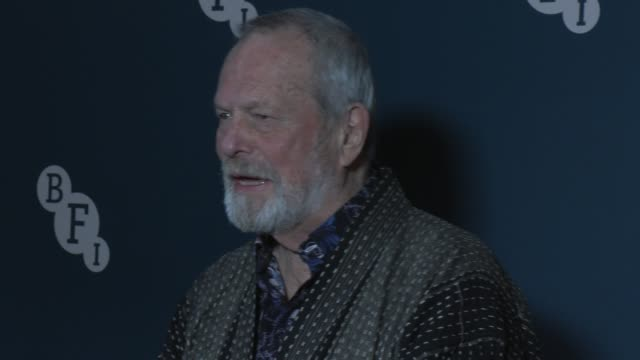 terry gilliam on march 02 2020 in london england - terry gilliam stock videos & royalty-free footage