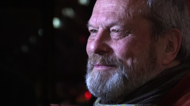 terry gilliam terry gilliam at st pancras renaissance hotel on november 30, 2011 in london, england - terry gilliam stock videos & royalty-free footage