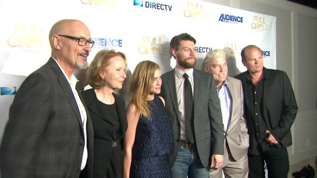 """terry o'quinn, kate burton, brittany snow, patrick fugit, stacy keach, chris bauer at directv celebrates the season 2 premiere of """"full circle"""" in... - kate snow stock videos & royalty-free footage"""