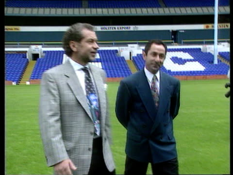 Terry Venables allegations/Ardiles sacking TX White Hart Lane SEQ Alan Sugar and Ossie Ardiles