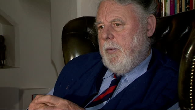 stockvideo's en b-roll-footage met terry waite interview sot will take time to adjust - terry waite