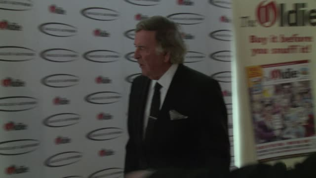 terry wogan at the oldie of the year awards on february 4 2014 in london england - terry wogan video stock e b–roll