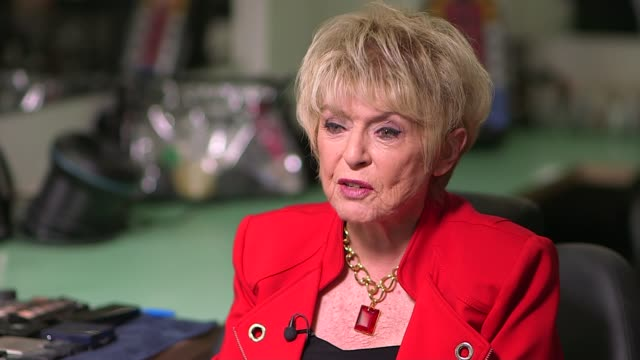 broadcasters' tributes; england: int gloria hunniford interview sot - apart from admiring terry for the incredible broadcaster that he was, i also... - terry wogan stock-videos und b-roll-filmmaterial