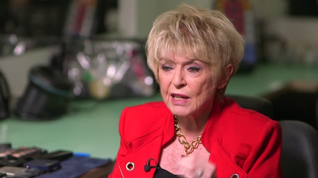 broadcasters' tributes; gloria hunniford sot - he said what he admired about karen was that she fought her battle with cancer with great dignity and... - terry wogan stock videos & royalty-free footage