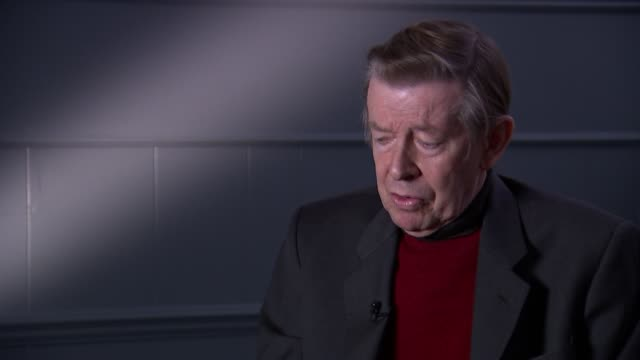 henry kelly interview england london int henry kelly interview sot pays tribute to terry wogan - terry wogan stock-videos und b-roll-filmmaterial