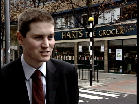 Britain's favourite supermarket ITN Harts the Grocer store James Lowman interviewed SOT Will be a lack of choice/ independents will struggle...