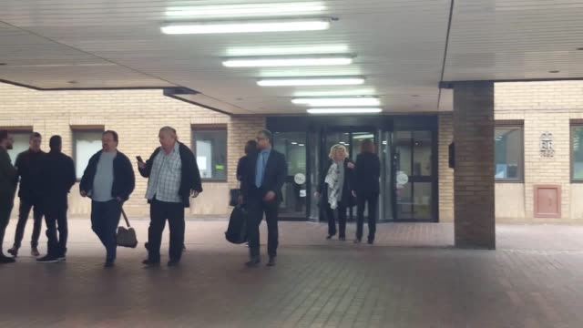 Tesco whistleblower Amit Soni leaving Southwark Crown Court