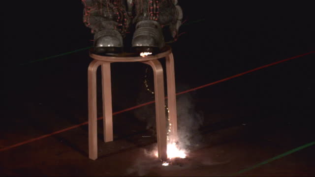 a tesla coil produces electricity. - tesla coil stock videos & royalty-free footage