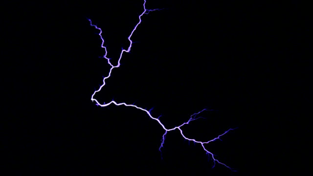 tesla coil - sparks stock videos & royalty-free footage